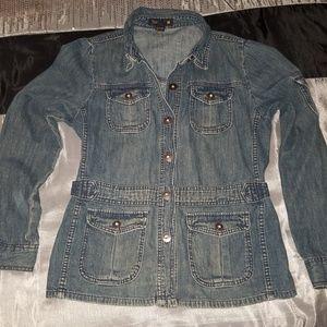 JCrew Jean Jacket -size Medium